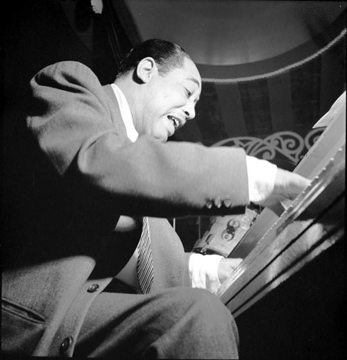 Duke ellington at the 1956 newport jazz festival for The ellington