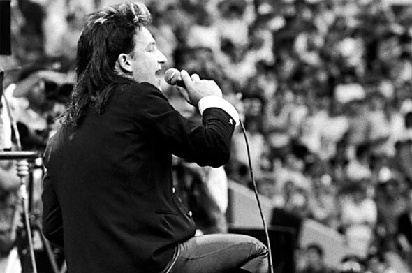 Remembering Bono's Defining Moment at Live Aid 1985