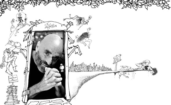 Shel Silverstein Cartoons: Shel Silverstein: In The Shade Of The Giving Tree