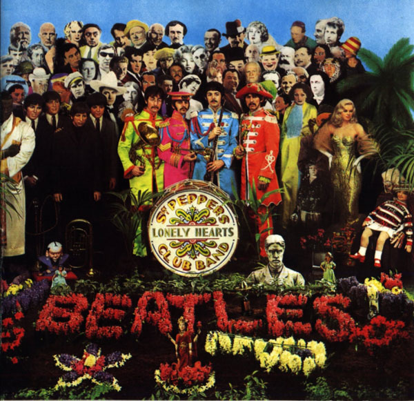 The Beatles' Sgt  Pepper's Photo Shoot: Faces in the Crowd