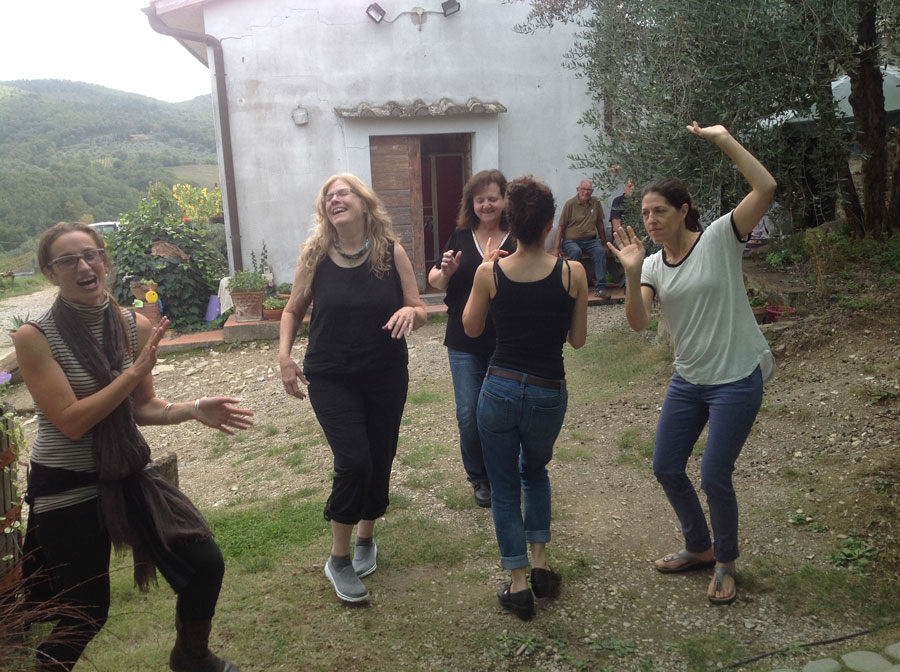 Dancing at the Vineyard